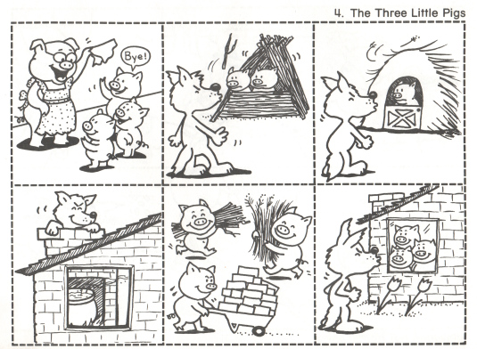 Snipp Snapp Snute: De tre små grisene