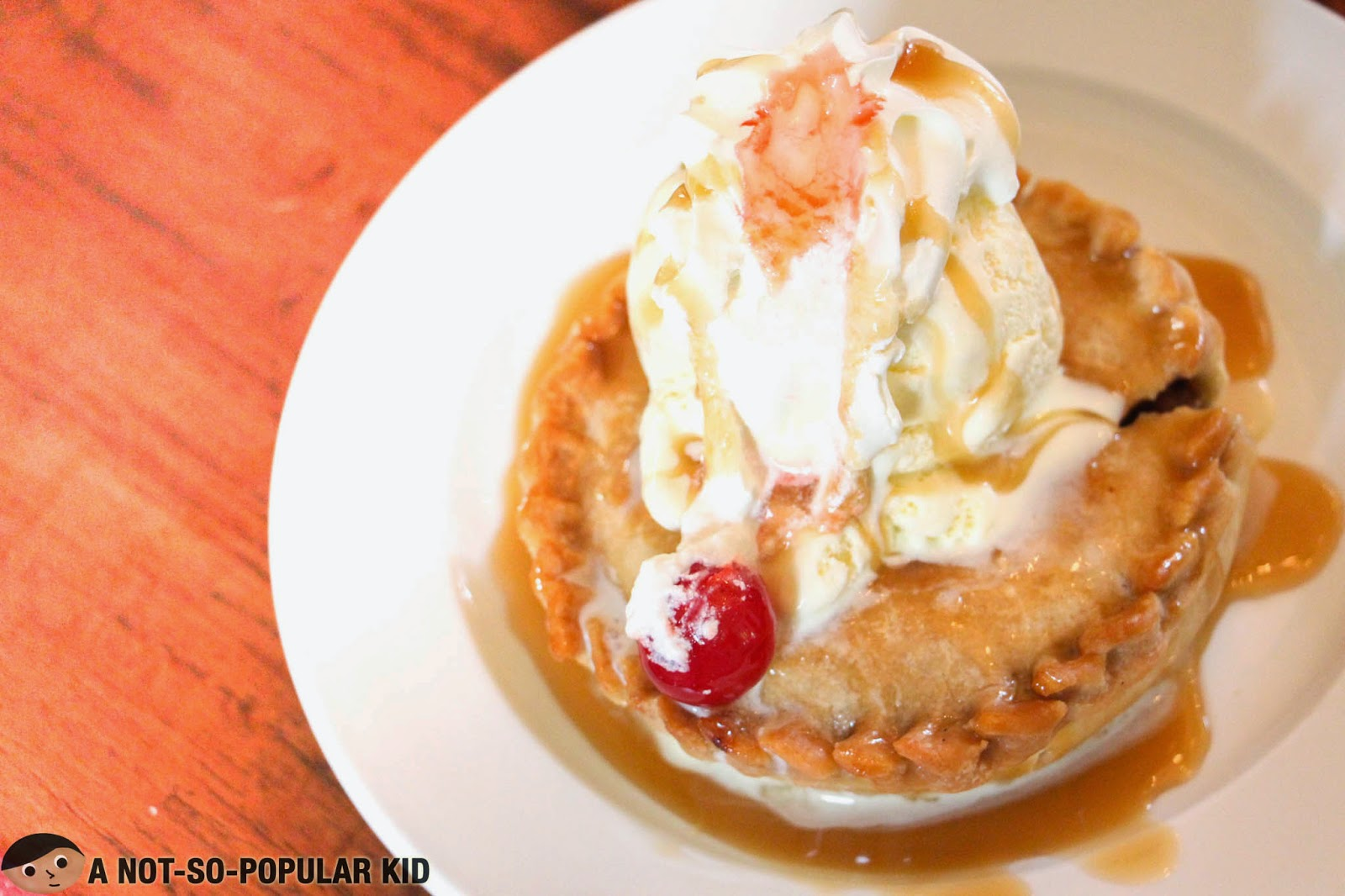 The sweet apple pie ala mode of Bag of Beans in Tagaytay