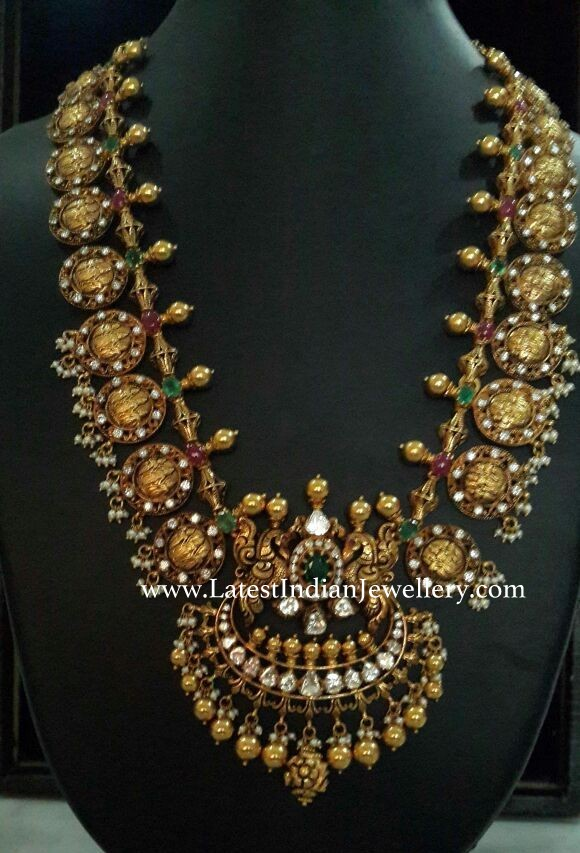 Grand Ram Sita Kasu Haram Latest Indian Jewellery Designs