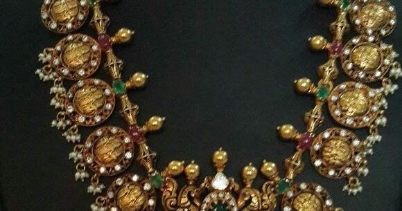 Grand Ram Sita Kasu Haram Latest Indian Jewellery Designs