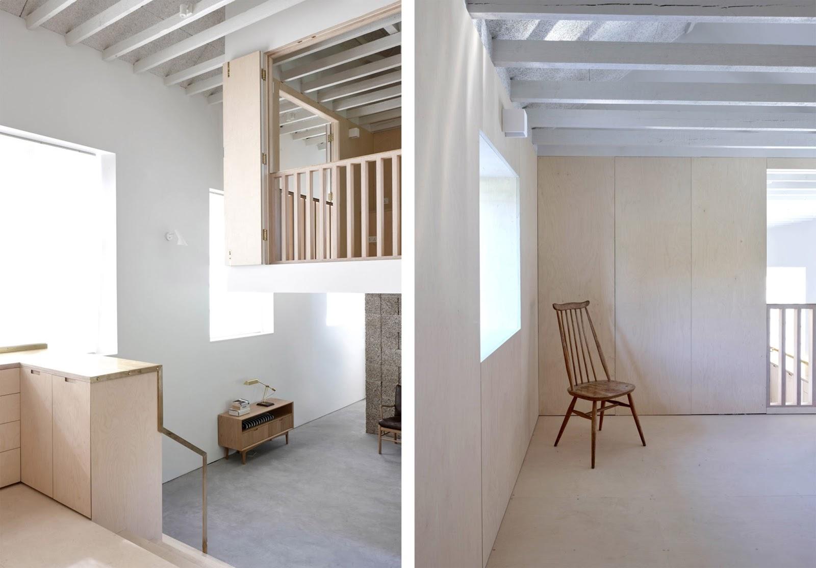 Loft con camera soppalco e cucina su misura by mclaren for Case piccole con soppalco