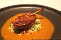 Squab with Spicy Red Curry at Jungsik