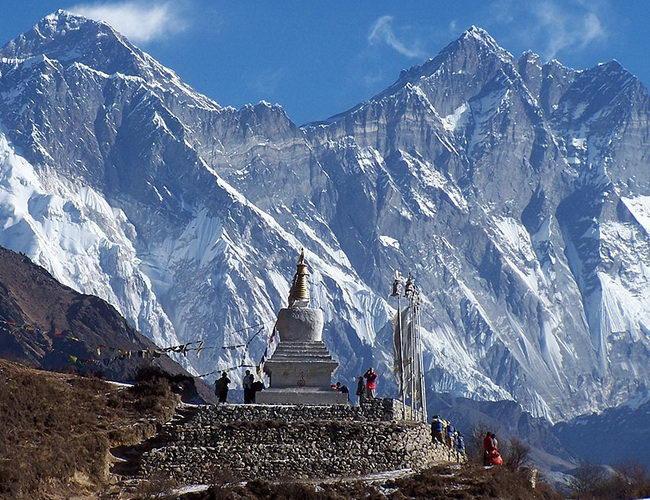 Xvlor Sagarmatha National Park is the highest natural conservation on earth