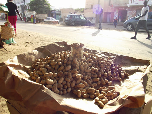 Cacahuetes made in Senegal