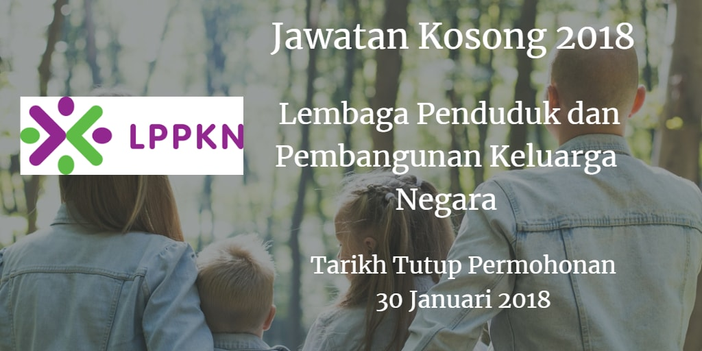 Jawatan Kosong LPPKN 30 Januari 2018
