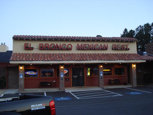 El Bronco Mexican Restaurant In Warner Robins Ga