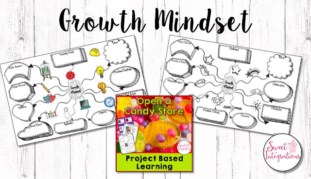 Building a growth mindset in your upper elementary students does NOT have to be challenging. Learn how to integrate it with your project based learning unit. Check out the PBL video here, and get five ideas for how you can start this in your 3rd, 4th, 5th, or 6th grade classroom today. Resources and book recommendations are also included. Click through now to learn more! {third, fourth, fifth, sixth graders}