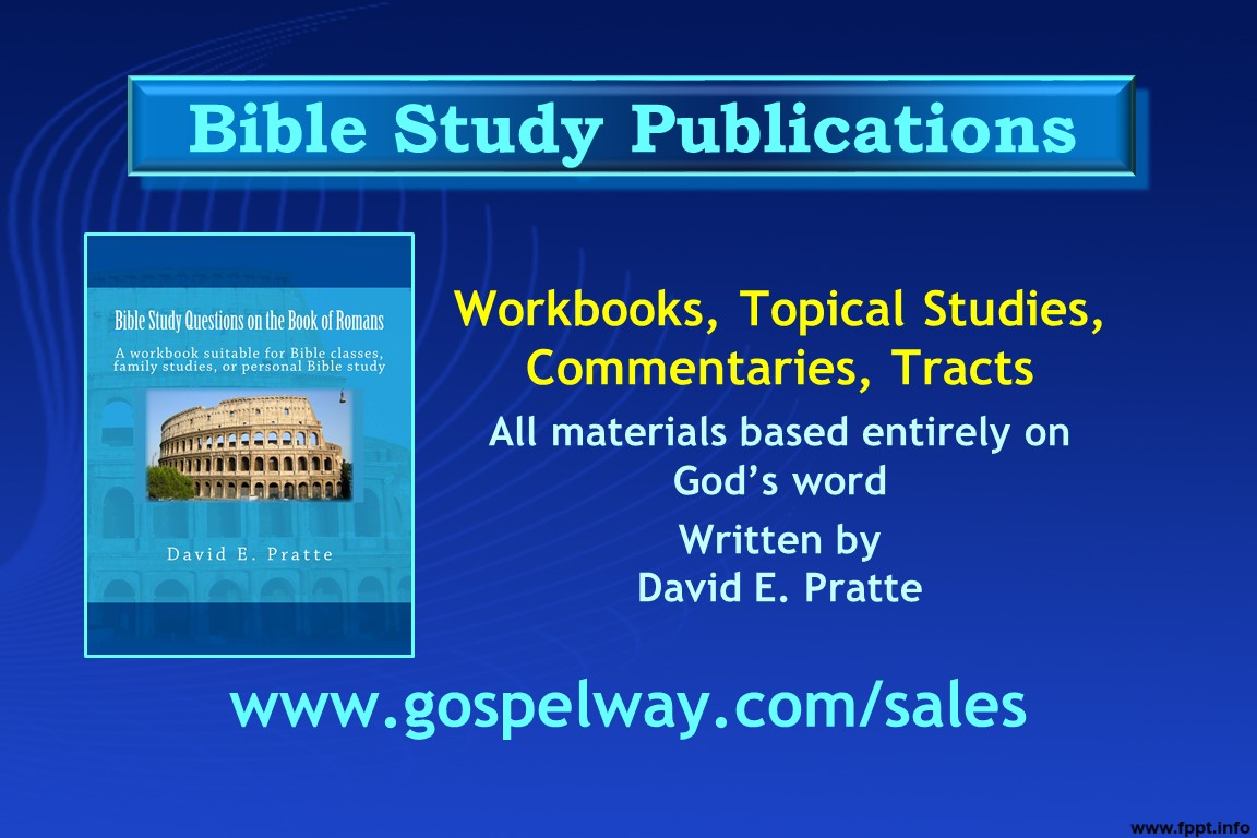 Bible Study Publications