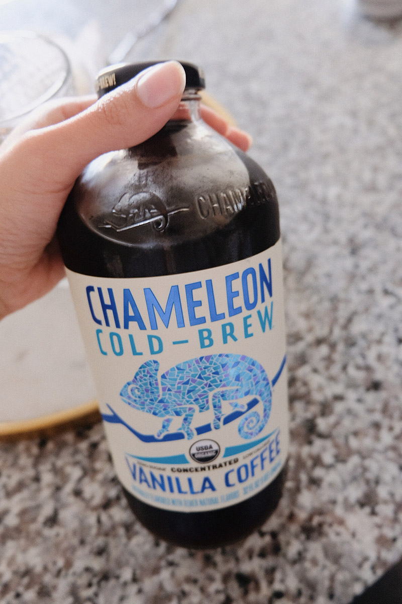 chameleon cold brew vanilla concentrate