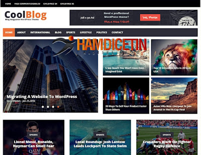 CoolBlog Wordpress Theme