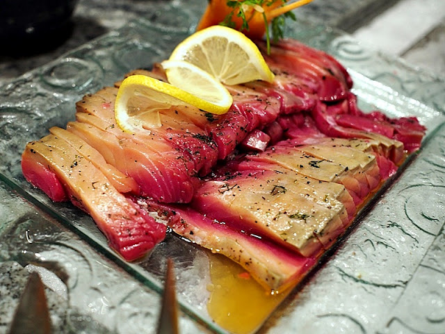 Feast Buffet Menu  - Cold Dish - Salmon Gravalax