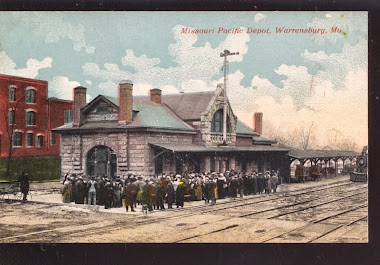 Warrensburg Train Depot