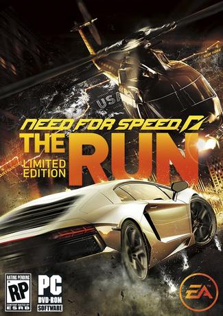 Need for Speed The Run Cover Art PC Game