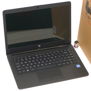 Laptop Baru HP 14-ck0012TU Win.10 Black