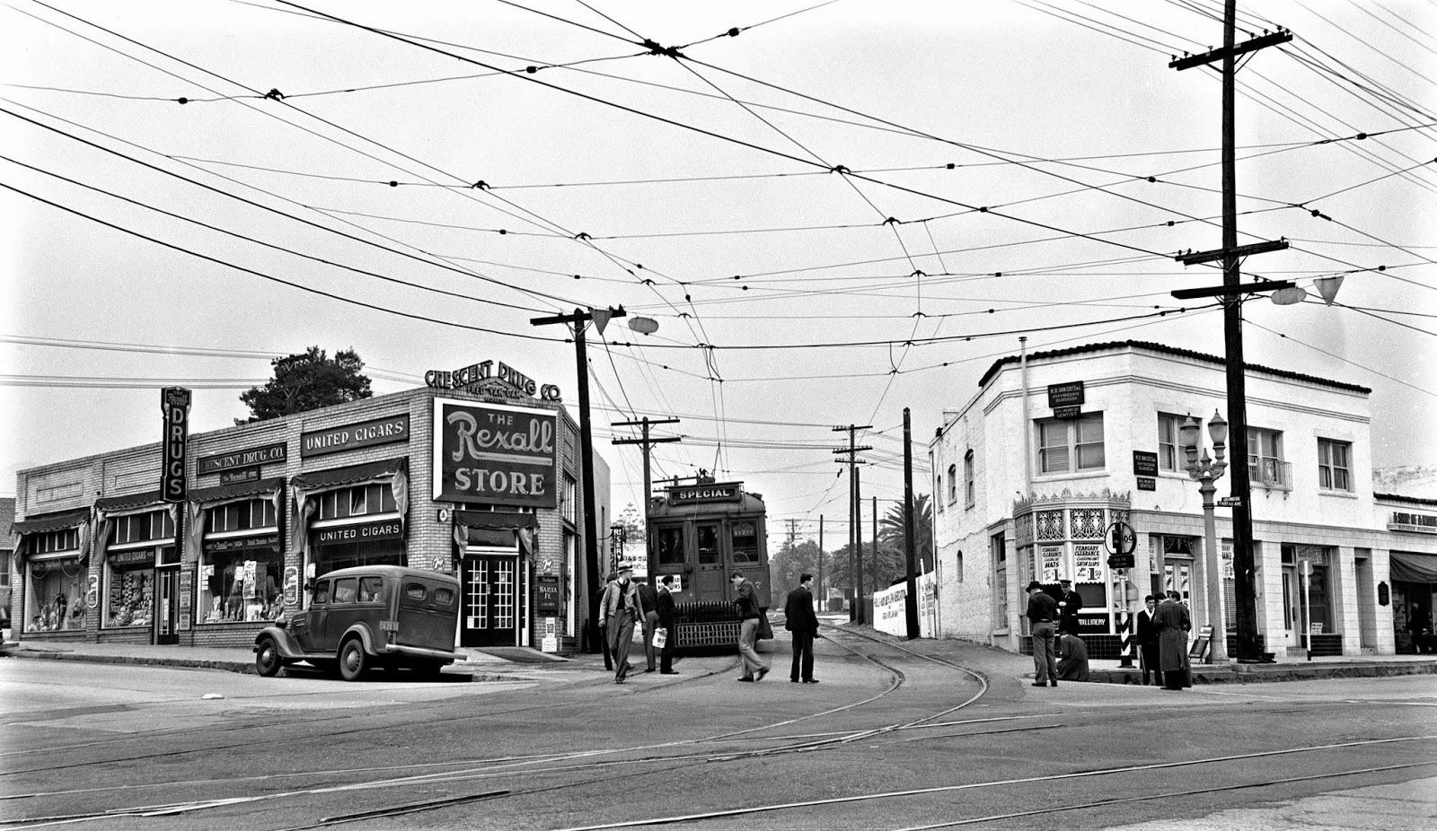 Santa Monica Blvd Classic Cars