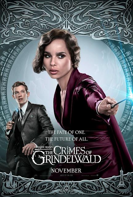 Novos pôsteres dos personagens de 'Os Crimes de Grindelwald' são divulgados | Leta Lestrange e Teseu Scamander | Ordem da Fênix Brasileira