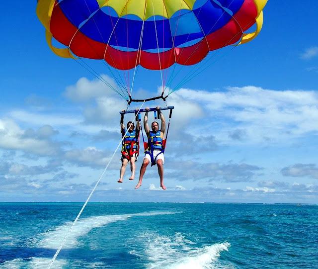 Parasailing Adventure Bali Double Murah