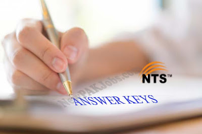 NTS Answer Keys