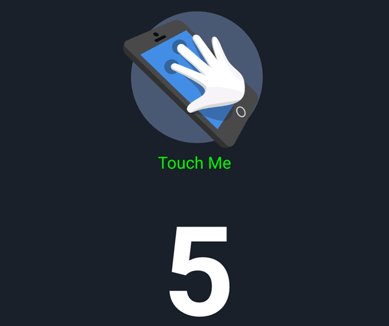 5 points multitouch