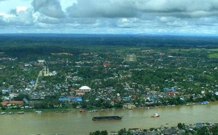 Kota Air Muara Teweh palangkaraya kalimantan tengah