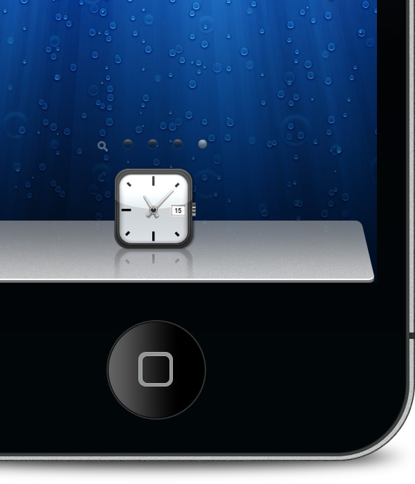 Theme Dock HD: Mountain Lion iOS Dock Download Free for iPhone and