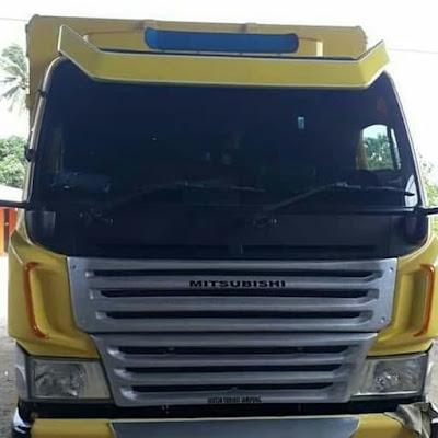 Aksesoris truk Canter bahan Fiber keren terlengkap dan terbaik.