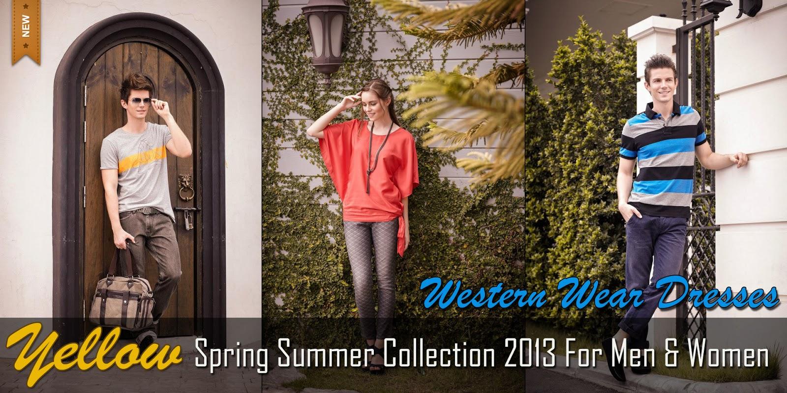 ca5d6349bda Yellow Spring Summer Collection 2013