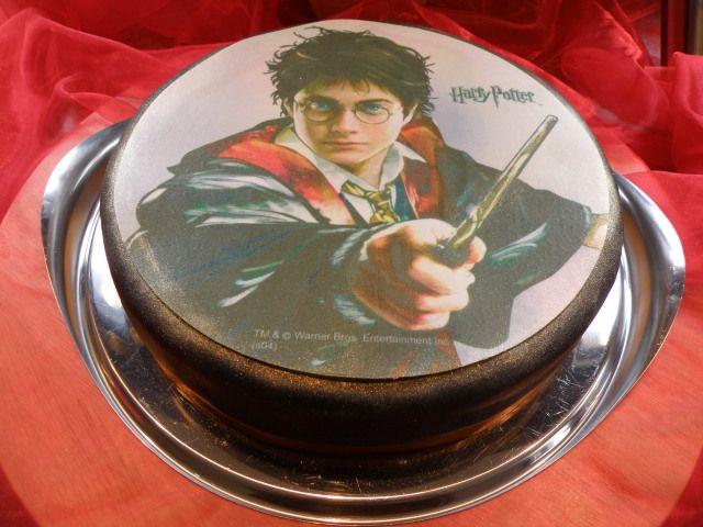 Motivtorte mit Harry-Potter-Aufleger - edel und total einfach
