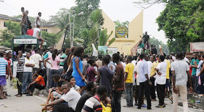 Adeyeye Olorunfemi and other UNILAG Student Union Leaders P