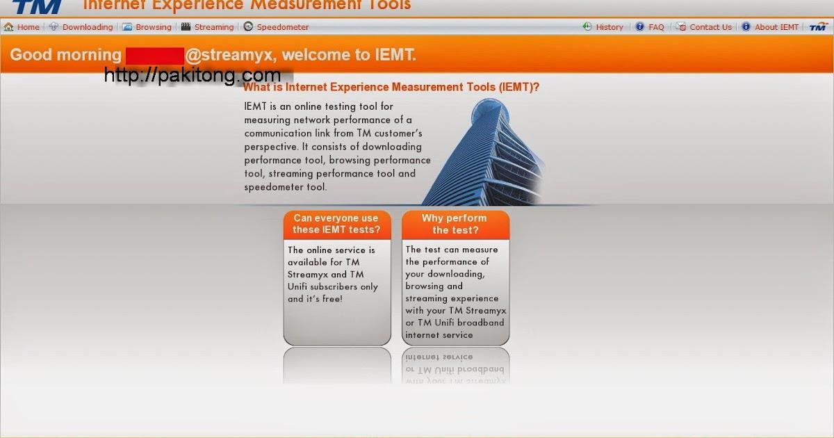 Tm Internet Expierence Measurement Tools Review