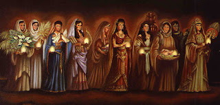 Resultado de imagen para parábola de las diez vírgenes o de las diez jóvenes doncellas