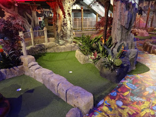 The Lost Valley Adventure Golf at Amazonia in Bolton