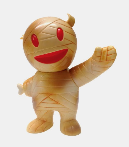 """Mummy"" Ivory Mummy Boy Vinyl Figure by Super7"