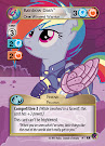 MLP Rainbow Dash, One Winged Warrior Marks in Time CCG Card