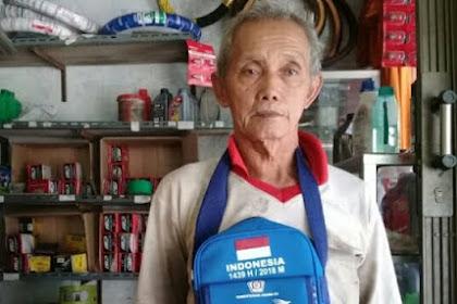 Inilah Keajaiban Kakek Tukang Tambal Ban, Yang Kekuragan Ekonomi Tapi Bisa Naik Haji
