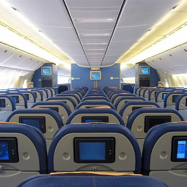 Avión por dentro