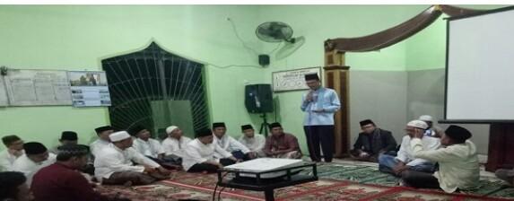 Harnojoyo Subuh Berjamaah di Mushollah Al Insan Iyah Lebong Gajah