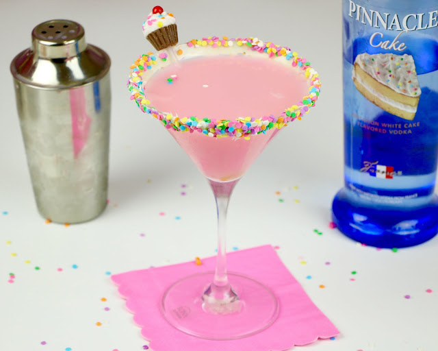 If I Were Throwing A Party There Is Nothing Would Rather Serve Than Pink Funfetti Ified Cocktail Concoctions That Taste Just Like Birthday Cake