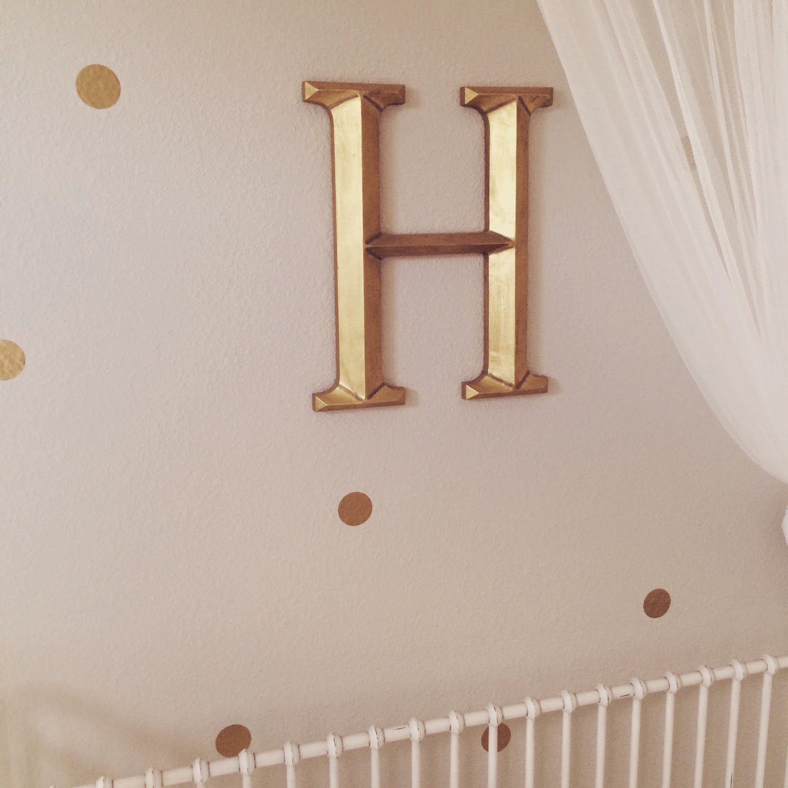 Here Is Harper's Updated Nursery: