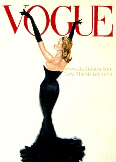 A Vintage Touch: Strike a Pose. . .Vintage Vogue Cover ...
