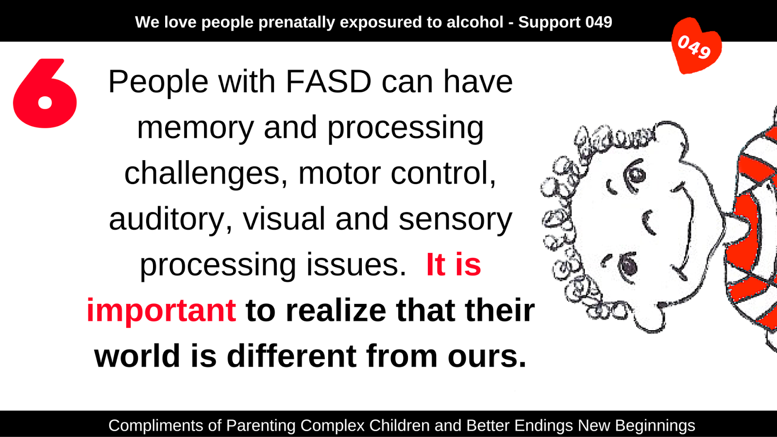 How Sensory Processing Issues Affect >> Parenting Complex Children Day 23 10 Things About Fasd 6 The