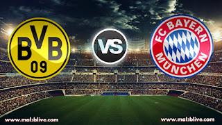 مشاهدة مباراة بايرن ميونخ وبوروسيا دورتموند Bayern munich vs borussia dortmund بث مباشر بتاريخ 20-12-2017 كأس ألمانيا