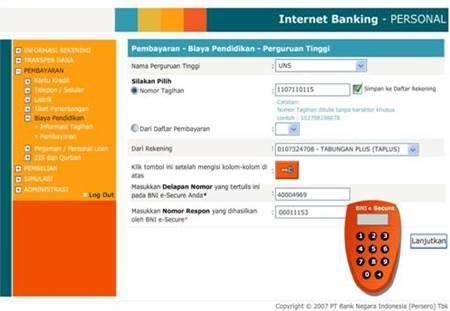 Prosedur Lengkap Daftar Internet Banking BNI - https
