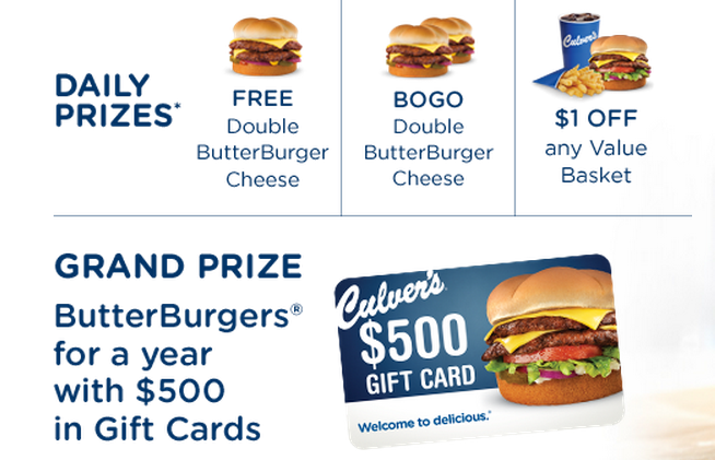 image regarding Culver's Printable Coupons identify Culvers discount coupons printable 2019