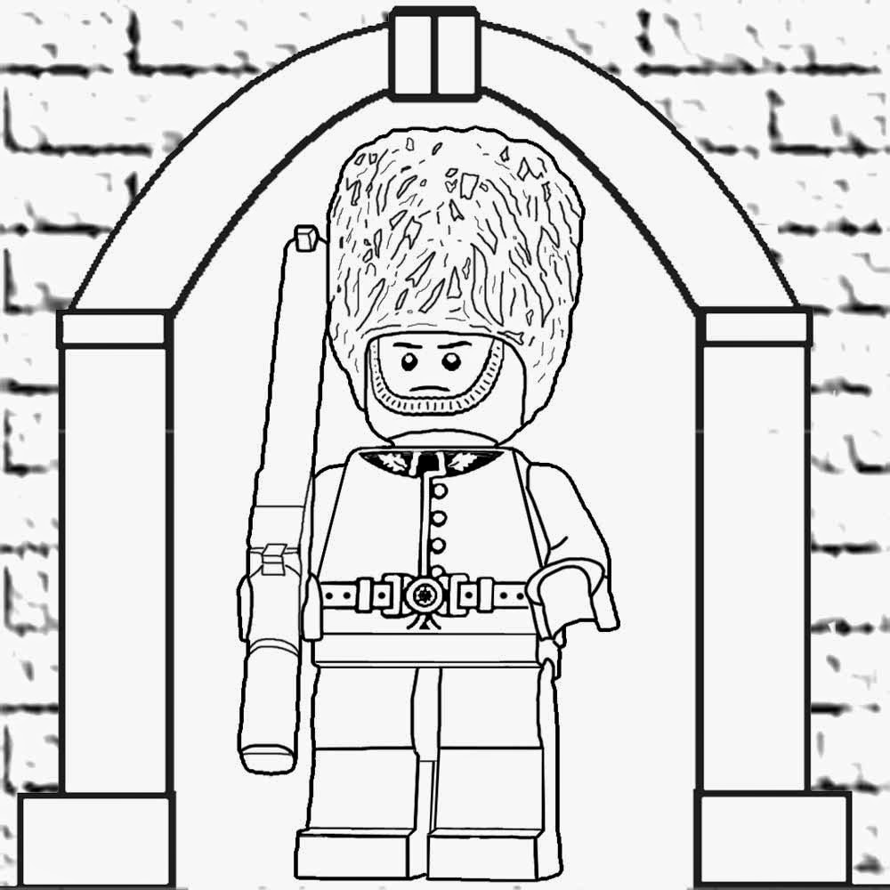 p g lego coloring pages - photo #28