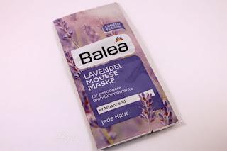 Lavendel Mousse Maske