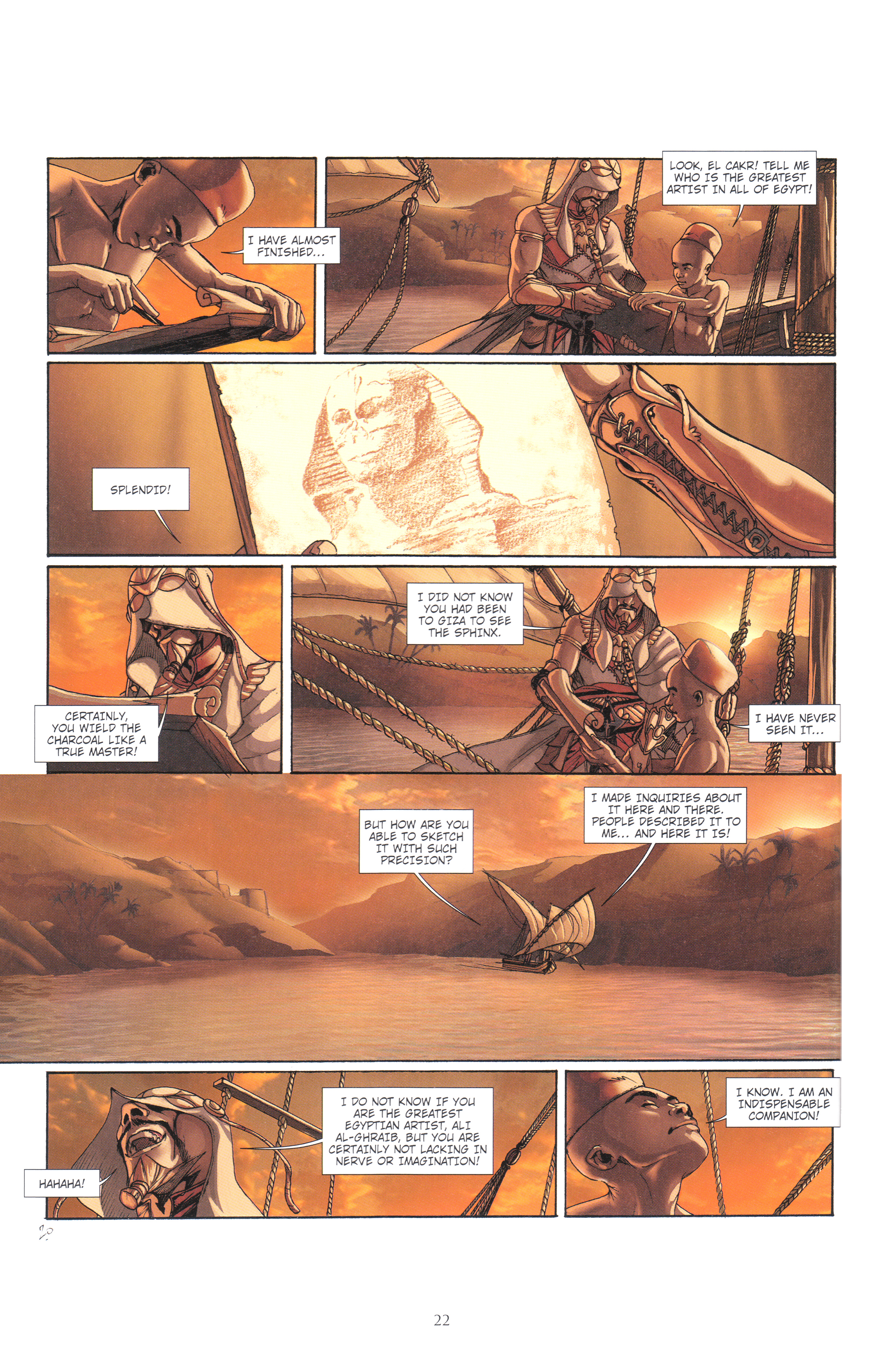 Read online Assassin's Creed (2012) comic -  Issue #4 - 22