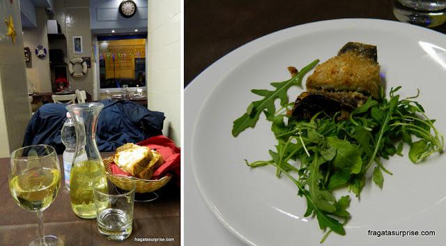 Restaurante e peixaria Pescheria Acquasalata, no Testaccio, Roma
