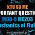 Mechanics of Fluids ME203 Important Questions   Module-5