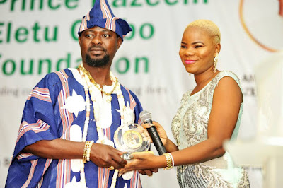 Prince Kazeem Eletu Odibo Empowers His PRO With Cash As She Adds Another Years